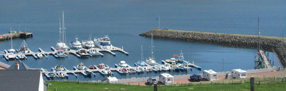 The Marina at Skeld Holiday Park